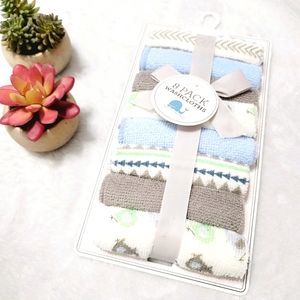 Baby Kiss 8 Pack Baby Washcloths